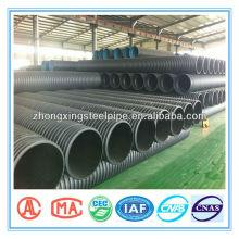 tubo de drenaje corrugado de polietileno de alta densidad de 1500mm