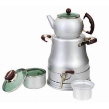 Caldera de té de aluminio que acampa 9PCS (CL1D-BFG9B)
