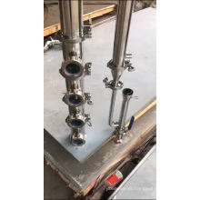 """2 """"3"""" 4 """"6"""" aço inoxidável modular Moonshine pote ainda coluna de destilação de refluxo"""