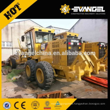 Low hours and price road grader Catepillar Used Grader 140k