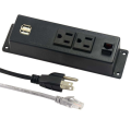 US Dual Power Outlets mit USB-Steckdosen