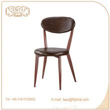 Vente en gros Alibaba Chine nouveaux produits vente chaude bistro café à manger chaise en bois d'imitation
