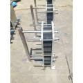 API Sigma106 Food Sanitary Gasket Plate Heat Exchanger