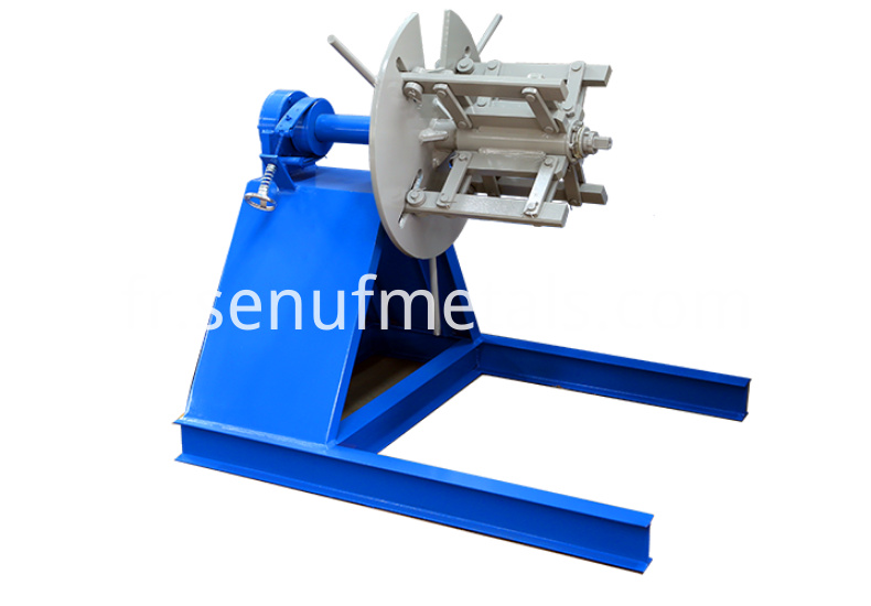 4 tons manual decoiler