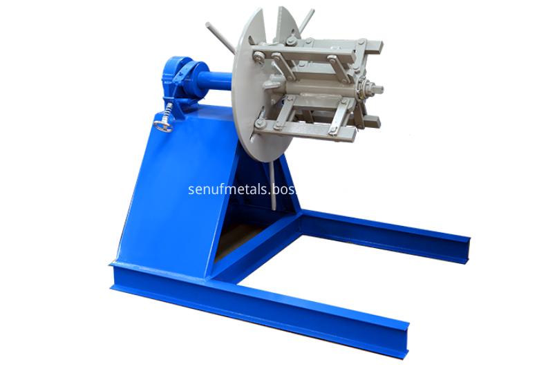 4 tons manual decoiler