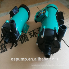 High efficiency magnetic drive circulation pump for juice