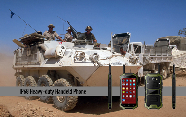 IP68 Heavy-duty Handeld Phone