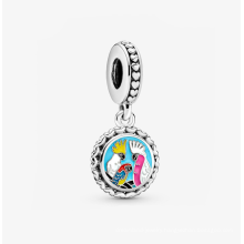 The new s925 silver Australian bird charm personality creative pendant is suitable for bracelets and necklaces