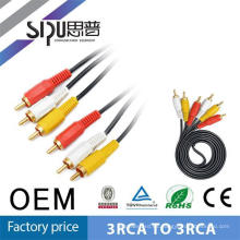 SIPUO 1.8m barato Top gama 3 RCA a 3 RCA Audio Video AV Cable digital