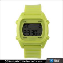 square shaped plastic watch custom digital watch vogue watches