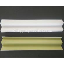 Los componentes de la rejilla del techo Los paneles de yeso suspendidos decorativos interiores expusieron las rejillas del techo llano blanco plano normal