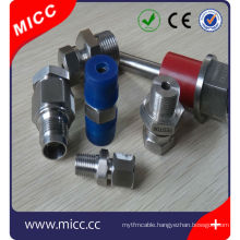 thermocouple adjustable adapter brass compression fitting