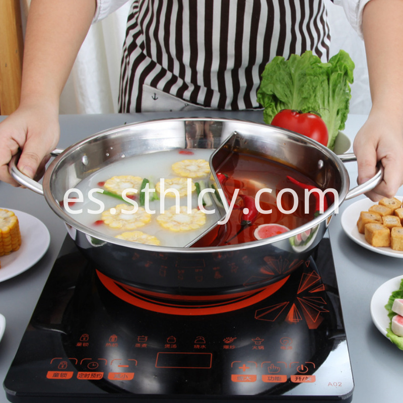 Stainless Steel Hot Pot Stand