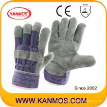 Защитная мебельная кожаная рабочая безопасность Промышленные перчатки (310091)