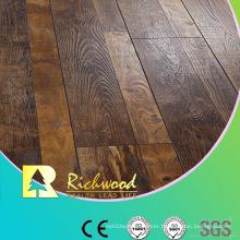 12.3mm HDF AC4 Embossed V-Grooved Waxed Edged Laminate Floor