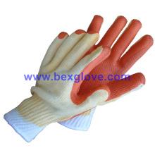 7 Gauge Acryl Liner, Latex Coating Handschuh