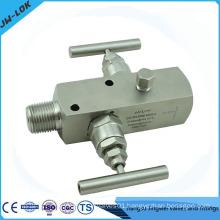 Block and bleed valve ,2 valve manifolds