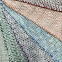 Boucle fashion design stlye wtih lurex yarn fabric