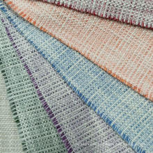 Boucle fashion design stlye con tejido de hilo de lurex