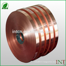 Rouleau de cuivre Cu-ETP T2 C11000