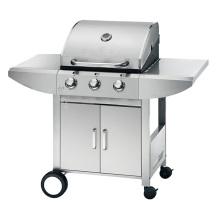 Barbecue de gás ao ar livre mais barato de 3 queimadores com aprovação CE