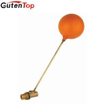 GutenTop высокое качество и горячие продать Резервуар для воды латунный Поплавковый шаровой Клапан латунный стержень с pastic мяч