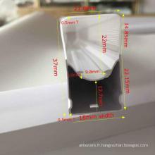 Diffuseur pc de lumière à tube carré LED à bas prix
