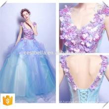Vestido de noiva elegante de cor elegante de estilo chique Vestido de noiva com vestido de bola OEM feito sob medida China