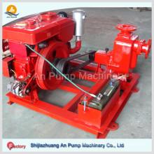 Diesel Engine Self Priming Sewage Pump