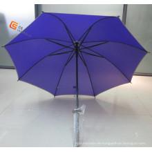 21-Zoll-Schwert Griff Auto Open gerade Regenschirm (YST009)