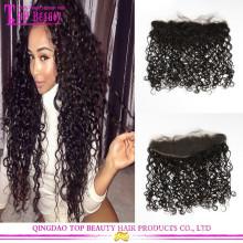 13 * 4 brasilianische unverarbeitete Haarteile Verschlüsse volle Spitze Frontal