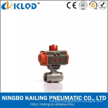 Low Price Ningbo Manufactory Stainless Steel Screwed 2 PC Ball Valve