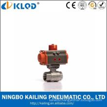 Low Price Ningbo Manufactory Stainless Steel Screwed 2 PC Ball Valve