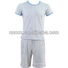 PK17ST213 100% cotton men short sleeve wholesale crewneck sweatshirt