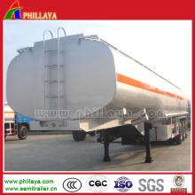 27 Cbm 2 Axles Fuel Storage Tank Truck Semi Trailer