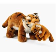 ¡Diseño modificado para requisitos particulares del OEM! Los juguetes de encargo de la felpa no mínimo Tiger rellenado
