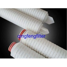 10inch PVDF Pleated Filter Cartridge for Water Treatment
