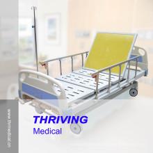 Cuatro-Cranks Manual ICU cama de hospital Zhangjiagang (Thr-MB558