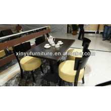 Restaurant dining table and chairs XDW1002