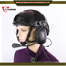 XX anti bullet helmet with communication system