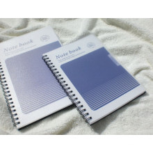 PP Cover Spiral Notebooks / Office Supply