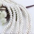Tamaño grande de 11m m de la cadena redonda natural de agua dulce natural de la perla perforada
