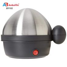 Anbolife 1-8 huevos Variedad de capacidad Elegante encimera Multifuncional Múltiples niveles Botón pulsador Interruptor giratorio Hervidor / vaporizador de huevos