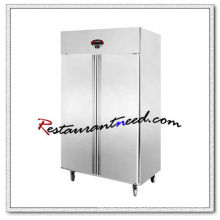 R135 2 Doors Static Cooling/Fancooling Tray Refrigerator/Freezer