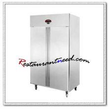 R135 2 Doors Static Cooling/Fancooling Tray Refrigerator/Freezer