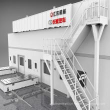 Prensa de estampagem a quente de aço de alta resistência (alumínio)