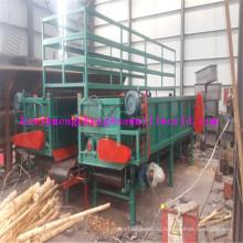 Высокая эффективность древесины пилинг машины с двойной Слот