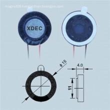 Loud Sound 15MM 8ohm 0.5W Mylar Speaker
