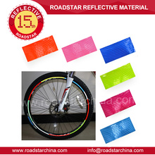 Highlight rose reflective bicycle wheel decals