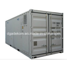 Containerized System Rotary Screw Air Compressor with Air Dryer (KCCASS-11*2)